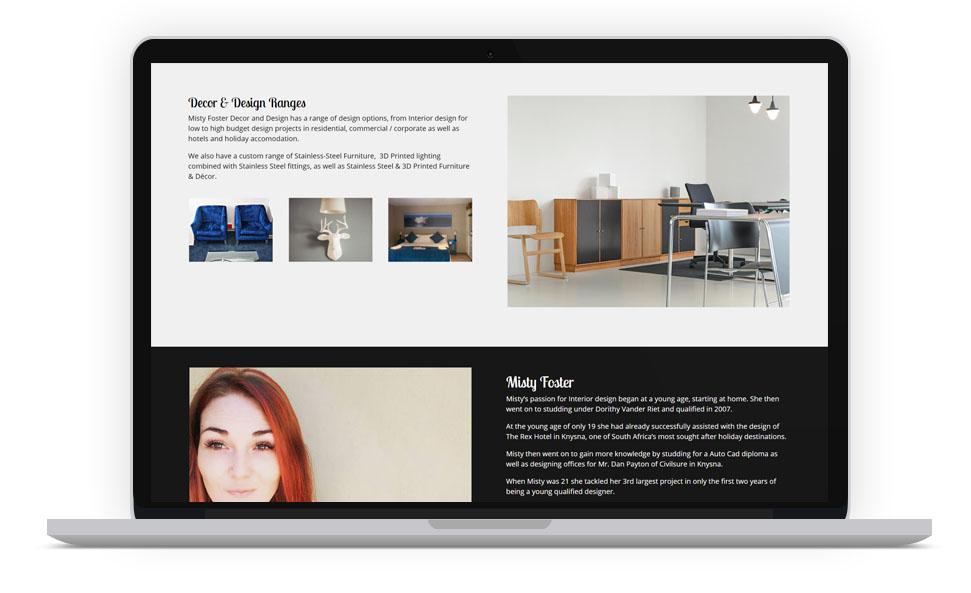 Interior Designer Website, Nottingham United Kingdom